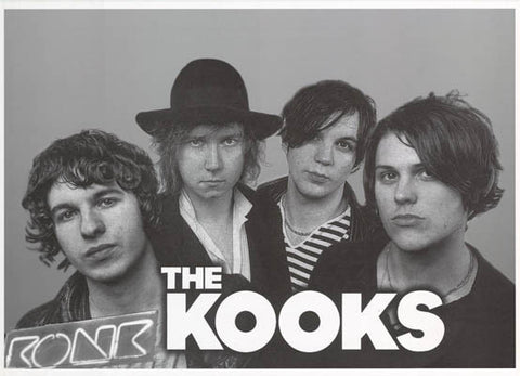 The Kooks Band Poster