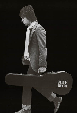 Jeff Beck Portrait Poster