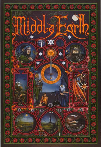 Middle Earth Peter Pracownik Poster