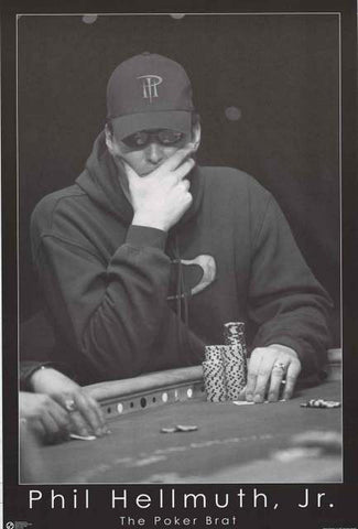 Phil Hellmuth Poker Poster