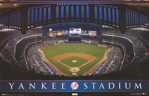 New York Yankees Yankee Stadium Bronx NY 22x34 Poster