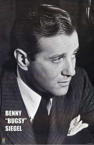 Bugsy Siegel Portrait Poster