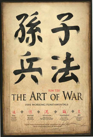 Sun Tzu Art of War Poster