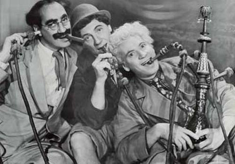 Marx Brothers Hookah Poster