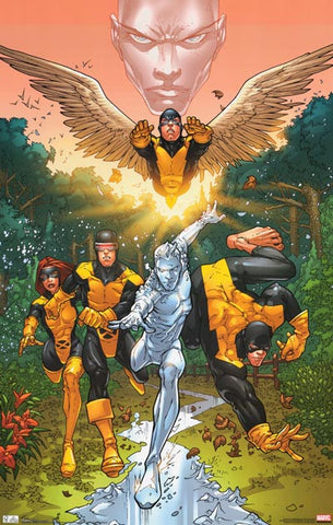 X-Men First Class Marvel Comics Poster