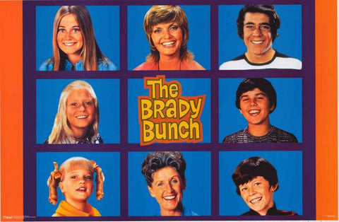 Brady Bunch TV Show Poster