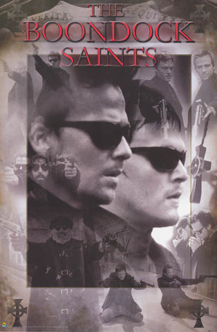 Boondock Saints Film Collage 24x36 Poster