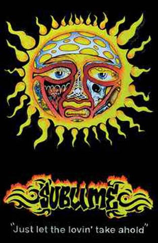 Sublime Black Light Poster