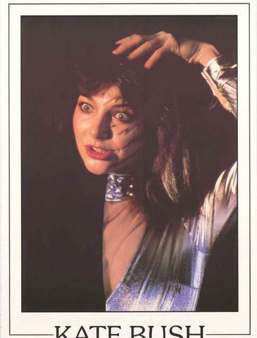 Kate Bush Portrait Poster
