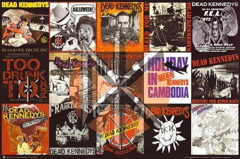 Dead Kennedys Album Covers Poster 24x36