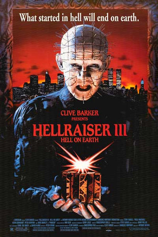 Hellraiser III Movie Poster