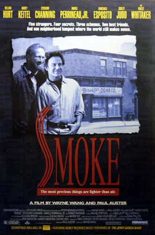 SMOKE HARVEY KIETEL ASHLEY JUDD 27x40 POSTER