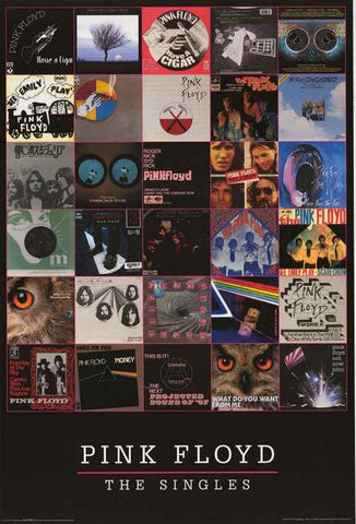 Pink Floyd Band Poster