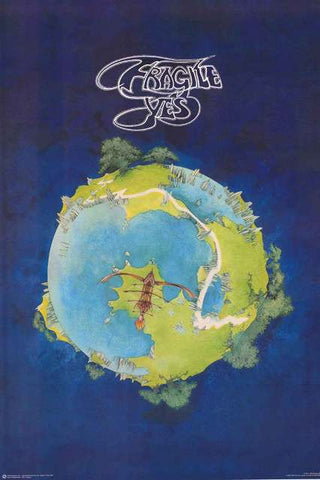 Yes Band Poster