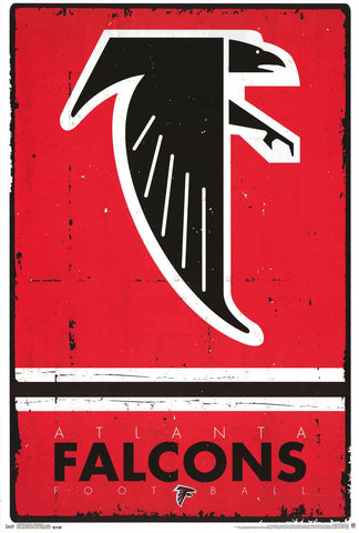 Atlanta Falcons NFL Poster