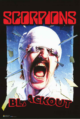 Scorpions Band Poster