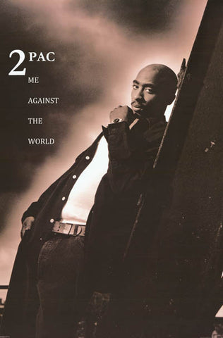 Tupac Shakur Me Against the World 2PAC 24x36 Poster
