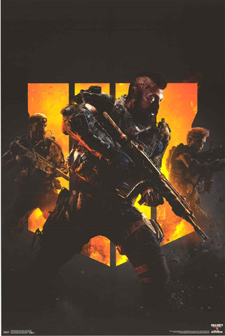 Call of Duty Black Ops 4 Poster