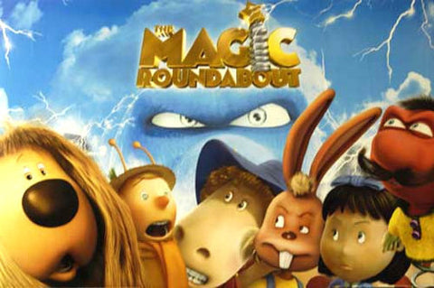 THE MAGIC ROUNDABOUT CHARACTERS 24x36 POSTER