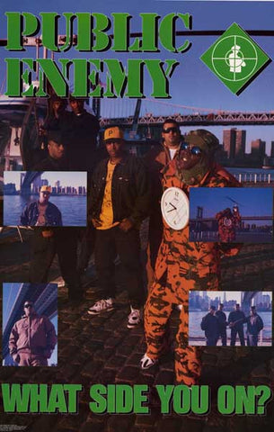 Public Enemy Band Poster