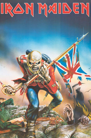 Iron Maiden The Trooper Album Cover Poster 24x36