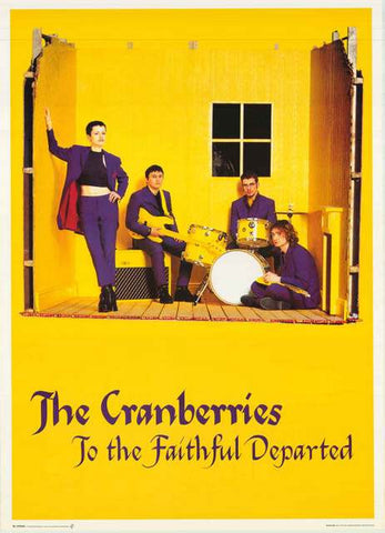 The Cranberries Faithful Departed Poster