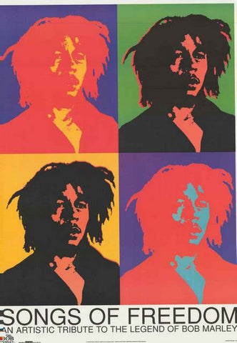 Bob Marley Pop Art Poster