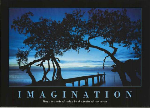 Imagination Inspirational Quote Poster