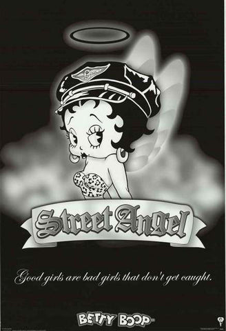 Betty Boop Cartoon Poster