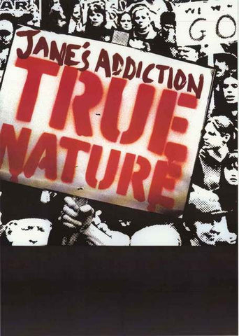 Jane's Addiction True Nature Poster