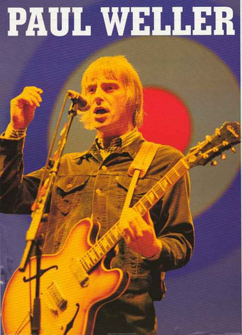Paul Weller Portrait Poster