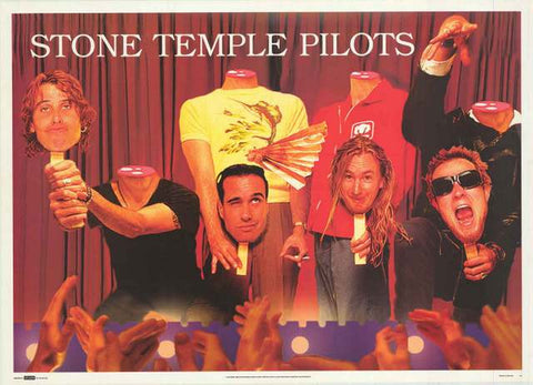 Stone Temple Pilots Band Poster