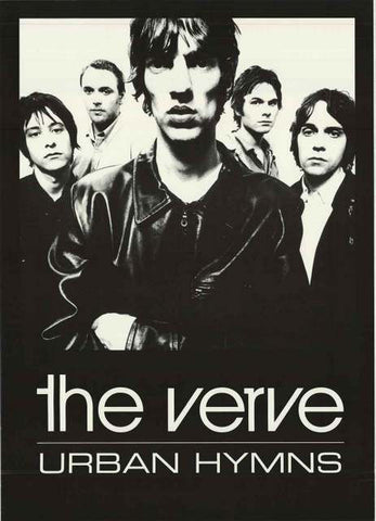 The Verve Urban Hymns Poster