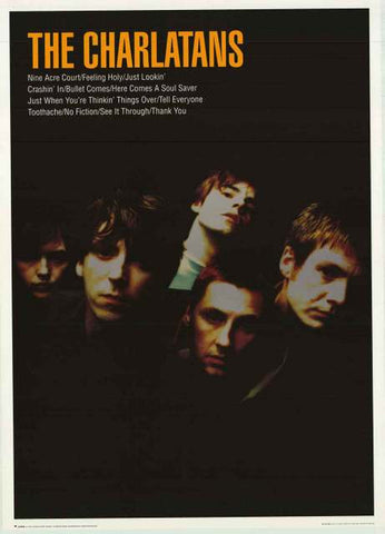 The Charlatans UK Band Poster