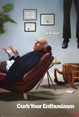 Curb Your Enthusiasm Larry David Poster