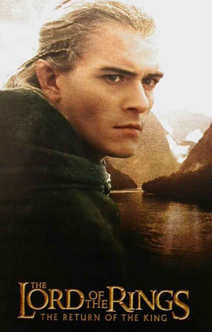 Lord of the Rings Legolas Subway Poster