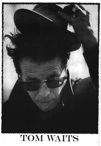 Tom Waits Portrait Poster