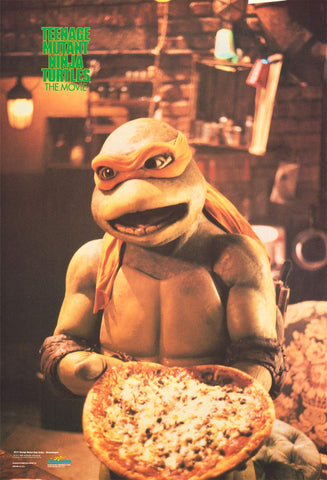 "Teenage Mutant Ninja Turtles Michelangelo Poster 22""x32"""