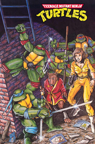 Poster: Teenage Mutant Ninja Turtles Mirage Comic Cover 21x32