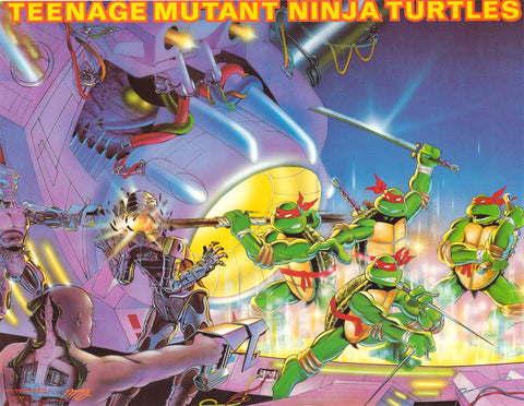 "Teenage Mutant Ninja Turtles Poster (Size 21""x28"")"