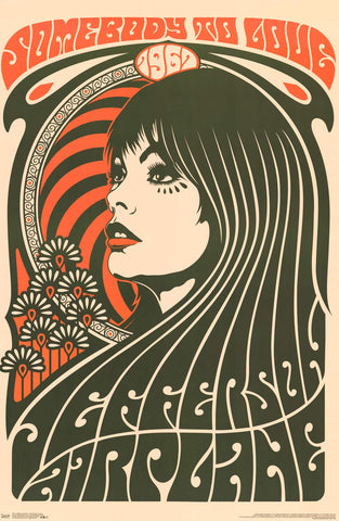 Jefferson Airplane - Somebody to Love Poster 22x34