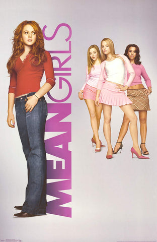 Mean Girls Movie Poster 22x34