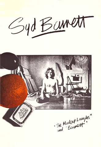 Syd Barrett - Solo Albums Ad - The Madcap Laughs 23x34  Poster
