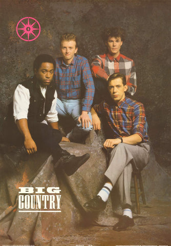 "Poster: Big Country - Band Portrait 24""x35"""
