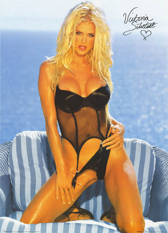 Victoria Silvstedt Super Sexy Lingerie 25x35 Poster