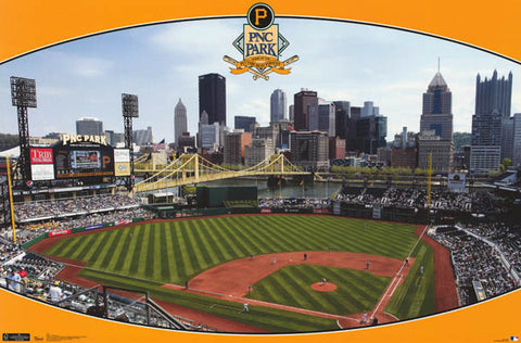 Pittsburgh Pirates PNC Park Poster