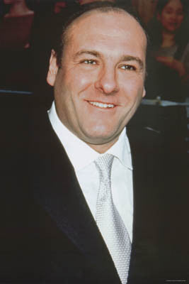 James Gandolfini Tribute Portrait Poster 24x36