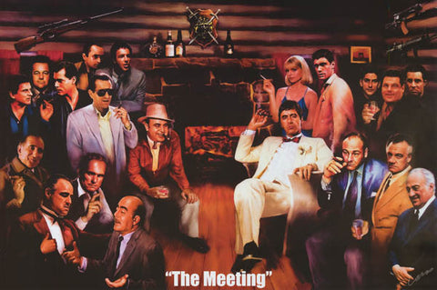 The Meeting Mafia Movie Poster