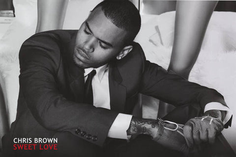 Chris Brown Sweet Love Poster