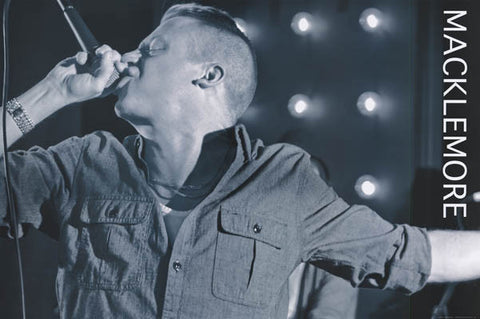 Macklemore Mac the Mic Ben Haggerty 24x36 Poster